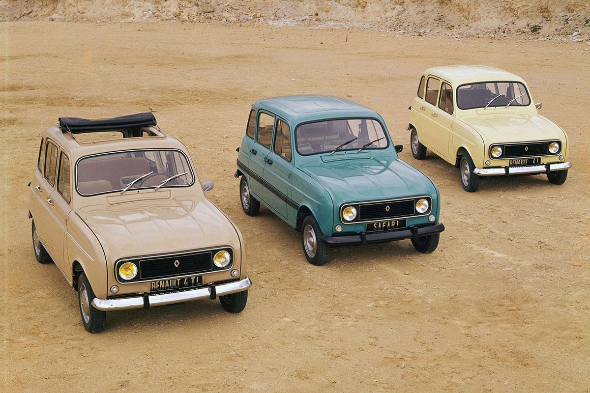 Avrupalı klasik: Renault 4