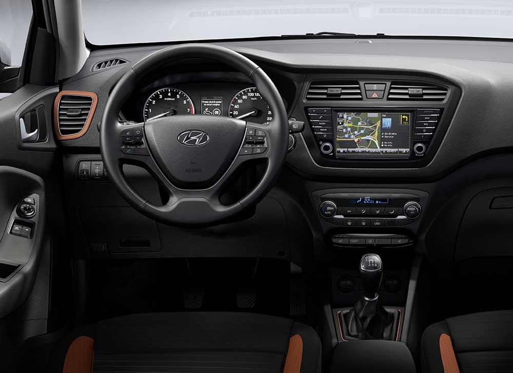Hyundai yeni tucson ve i20 coupe yle cenevre de for Interieur hyundai i20