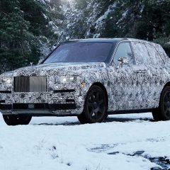 İşte Rolls-Royce SUV