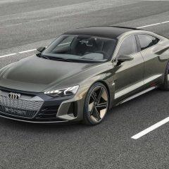 Audi'den elektrikli coupe: e-tron GT concept