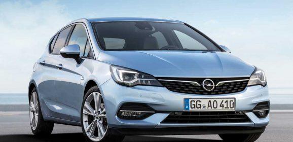 Opel makyajlı Opel Astra'yı tanıttı